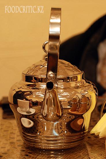 Чай гокул в алматинском ресторане Govinda's на Foodcritic.kz