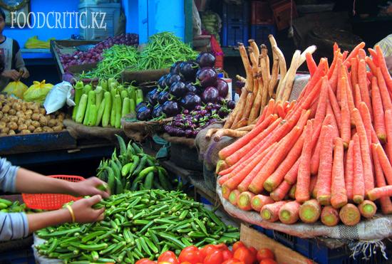 Индийские овощи на Foodcritic.kz