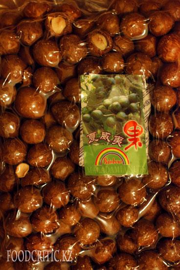 Macadamia в упаковке