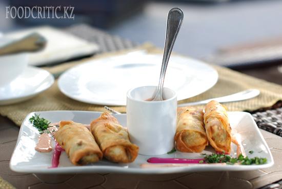 Бореки в ресторане Safran - Алматы