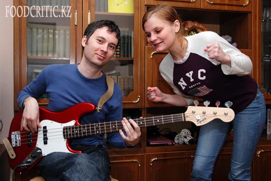 Анна Сухачева и Антон Ермолаев на Foodcritic.kz