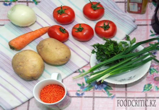 Чечевичный супчик от Анны Сухачевой на Foodcritic.kz