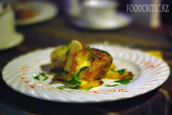 Судак в ресторане Во-бла на Foodcritic.kz