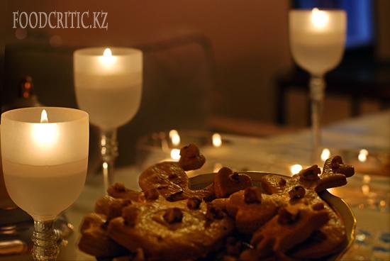 Приготовление рождественского печенья на Foodcritic.kz