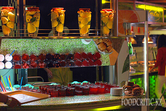 Ресторан Грабли в Москве - интерьер