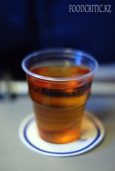 Самолетная еда Трансаэро -сок