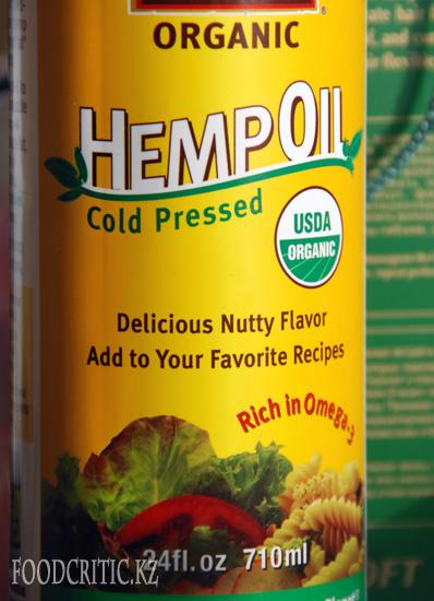 Конопляное масло на Foodcritic.kz