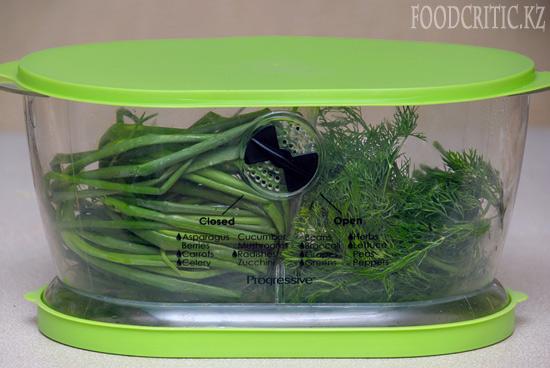 Как сохранить зелень на Foodcritic.kz