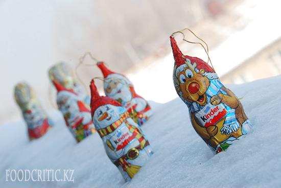 Шоколад Kinder на Foodcritic.kz