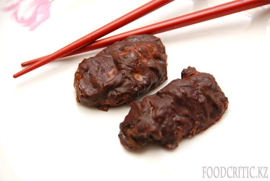 Устрицы в шоколаде на Foodcritic.kz