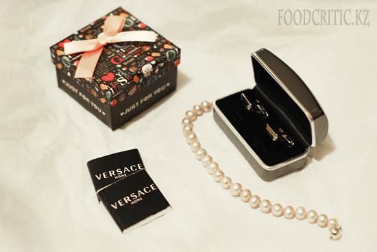 Шоколад Versace на Foodcritic.kz
